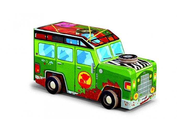 Safari auto + puzzle