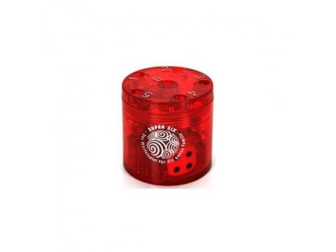 Super six - červený