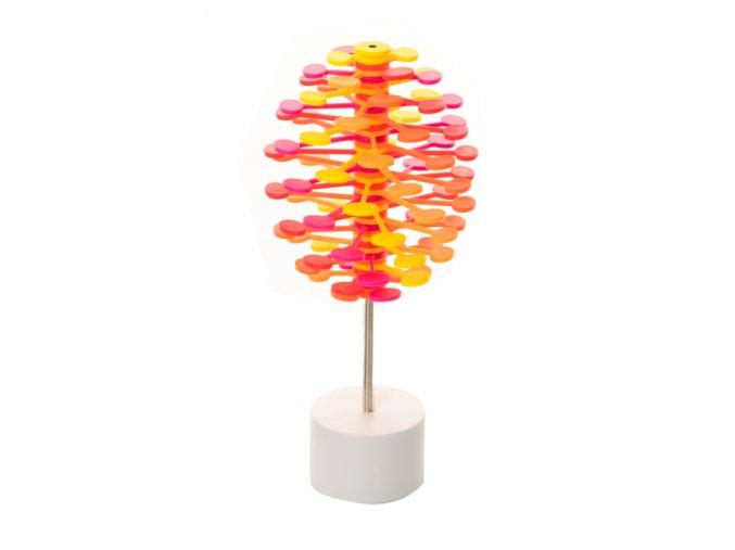 Kinetický strom - Lollipopter oranžový