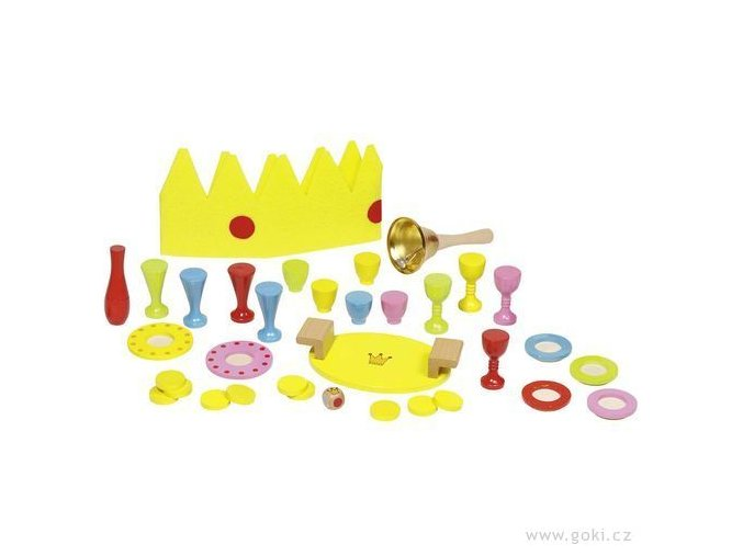 Dovednostní a balanční hra - Král zazvonil!