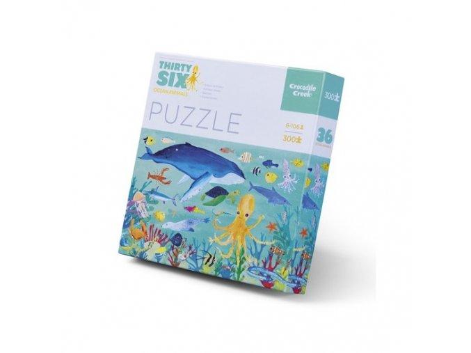 crocodile creek 36 animals puzzle ocean animals 300pc 1