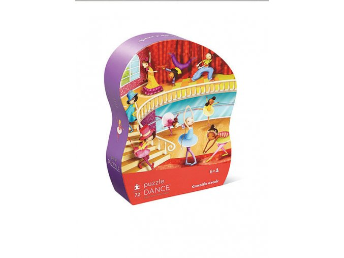 Junior Shaped Box Puzzle - Dance studio