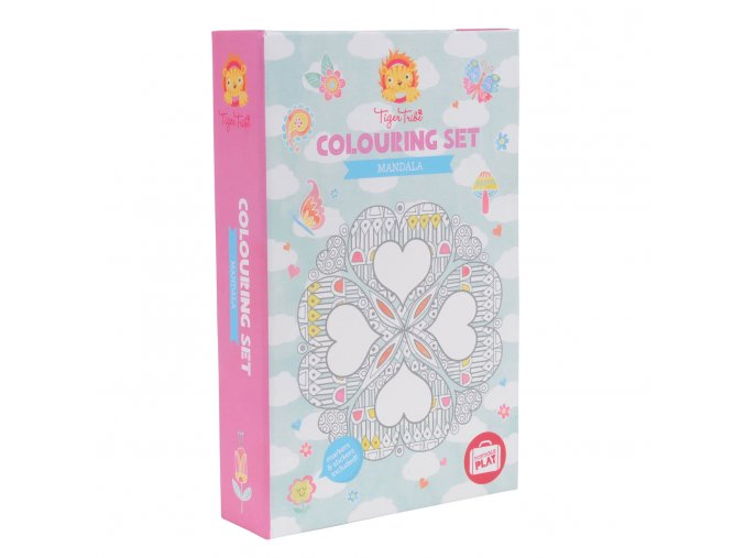 colouring set mandali