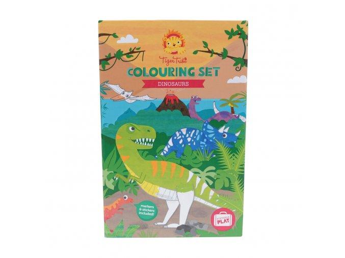 Colouring Set - Dinosaur/dinosauři