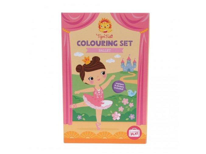 colouring set balet