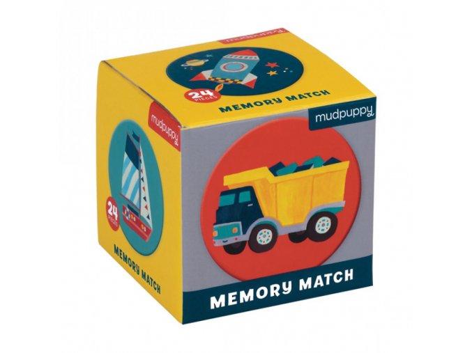 Mudpuppy Mini Memory Match Game Transportation 9780735347526 MP47526