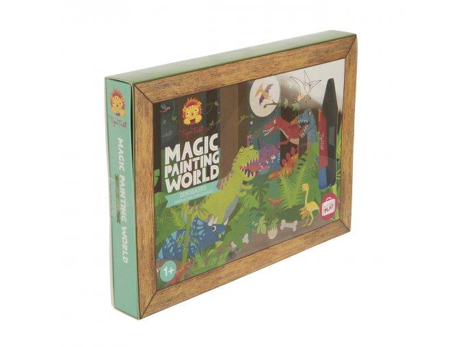 Magic Painting world - Dinosauři