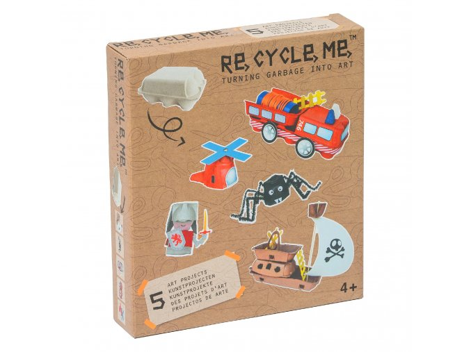 RE16BS131 Egg Box Boys