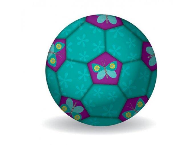 Fotbalový míč 18 cm - Motýli / Soccer Ball 18 cm - Butterflies