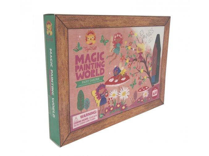 Magic painting world- Fairy garden