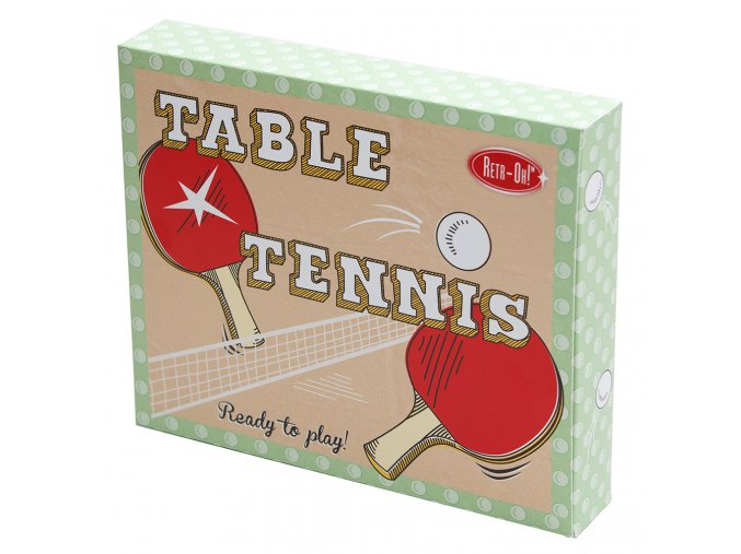 RT17833 Mini Table Tennis Retr oh