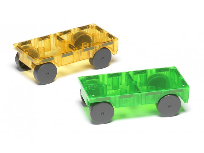 # 16022 Magna Tiles Cars 2 Piece Expansion Set 2