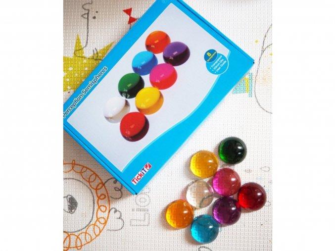 Smyslové půlkruhy barevné / Perception Semisphere