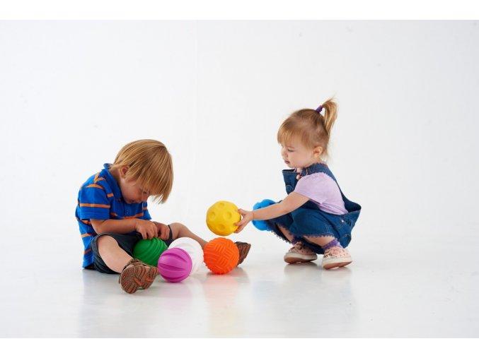 Smyslové úchopové míče 6ks / Tactile Ball PK 6