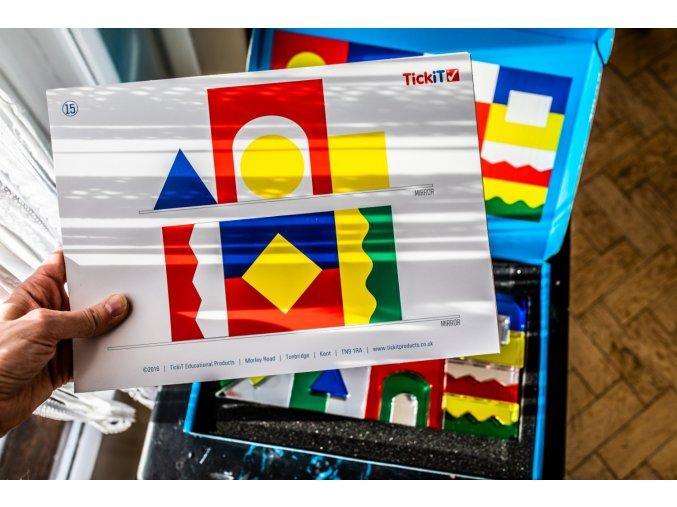 Smyslové akrylové bloky / Sensory acrylic blocks