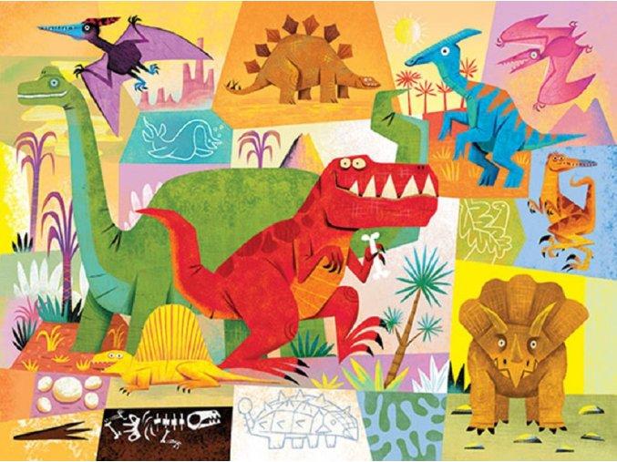 Mini Puzzle Dinosauři 24 ks