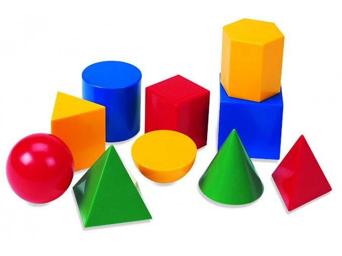 Velký set geometrických tvarů / Large Geometric Solids
