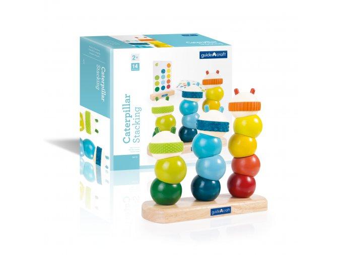 Navlékací housenka / Caterpillar stacking