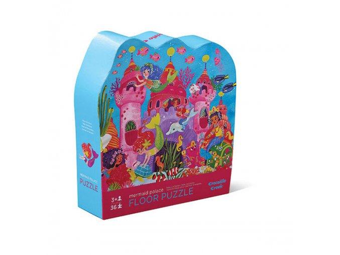 Puzzle - Palác mořských panen (36 ks) / Shaped Puzzle - Mermaid Palace (36 pc)
