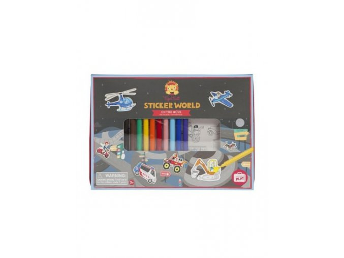 sticker world on the move front 139 163 mg 6132 hr