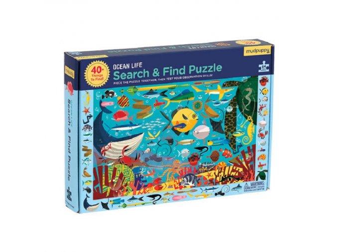 Puzzle- Poskládej a najdi- Oceán