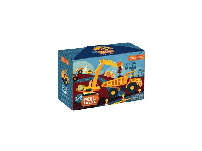 Foil Puzzle - Stavba (100 ks) / Foil Puzzle - Construction (100 pc)