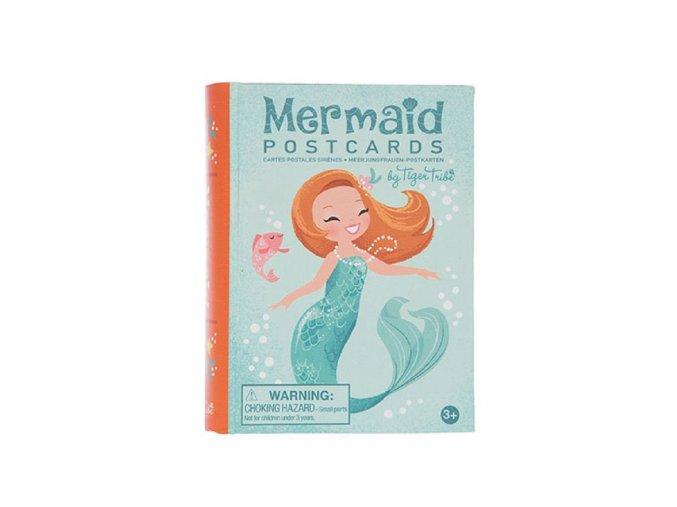 Mini pohlednice - Mořská panna / Mermaid Postcards