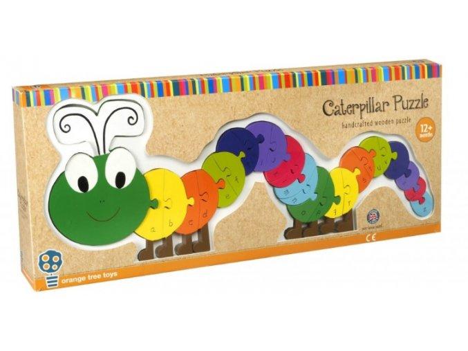 Alphabet Puzzle Caterpillar