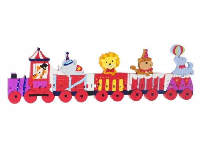 Alphabet Puzzle Circus Alphabet Train