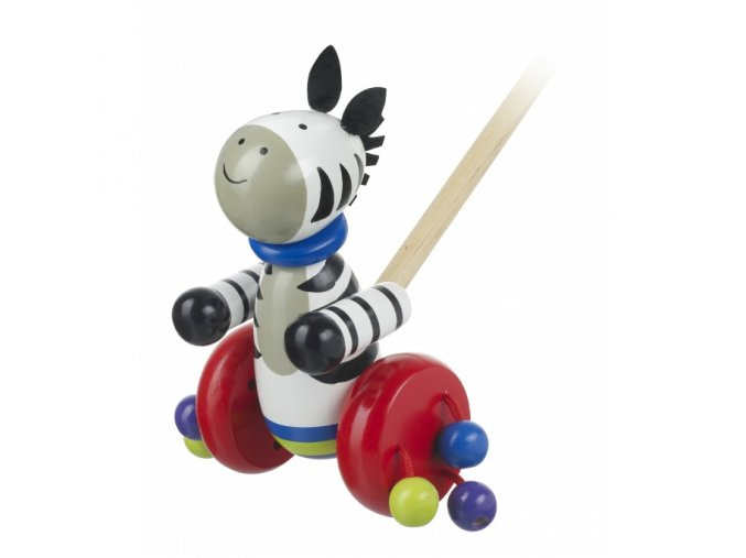 zebra push along