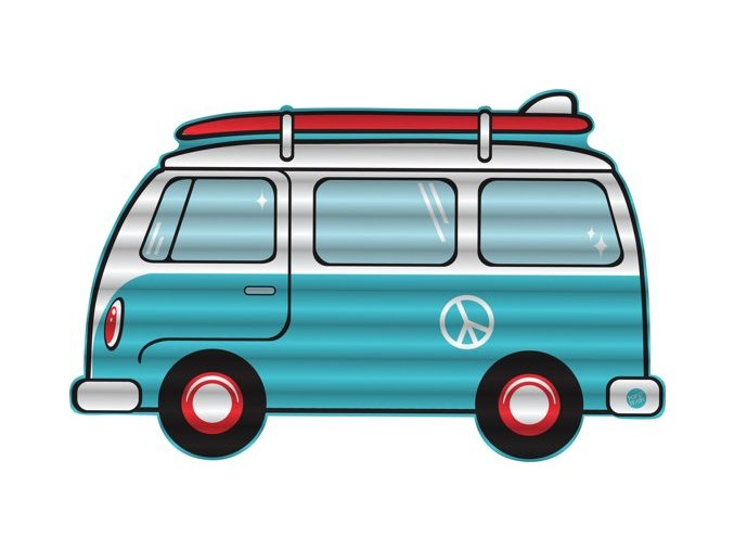 Nafukovací lehátko Minivan