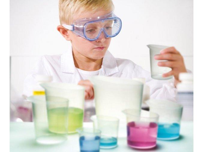 Průsvitné nádoby na pokusy (Beaker set of 7)