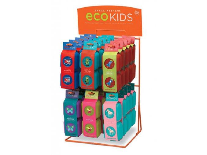 Svačinová krabička zvířátka malá, sada 2ks / Snack Keeper Animalia