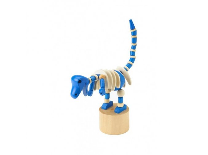 blue dinosaur push up