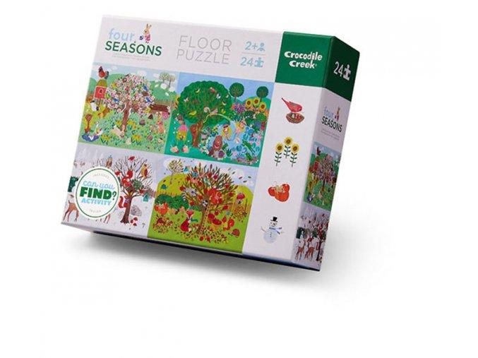 Puzzle - Hledej roční období / four Seasons