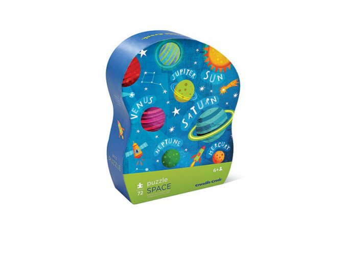 Junior Shaped Box Puzzles/Space 72 pcs puzzle
