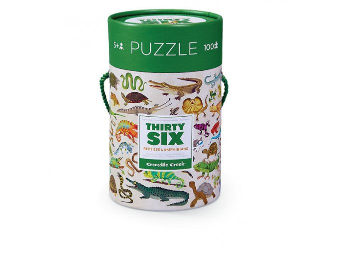100 pc Puzzle/Reptiles&Amphibians (New)