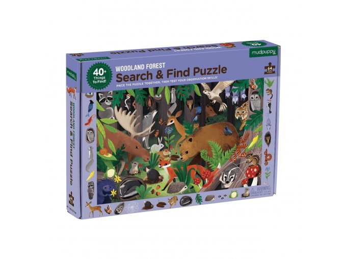 woodland forest search find puzzle search find puzzles mudpuppy 518704 2400x