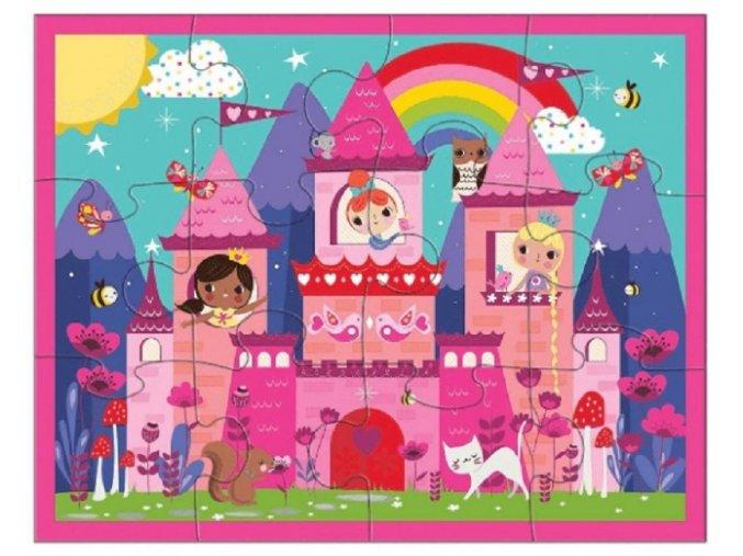 Pouch Puzzles/Princess Castle (12 pcs)