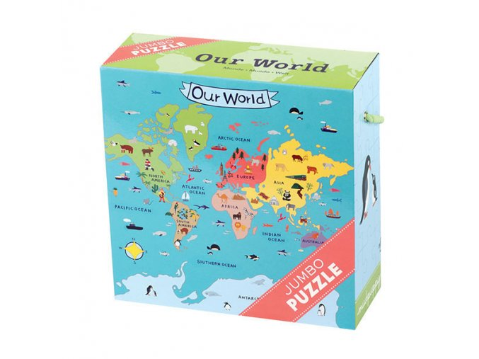 Jumbo Puzzle/Our World (25 pcs)