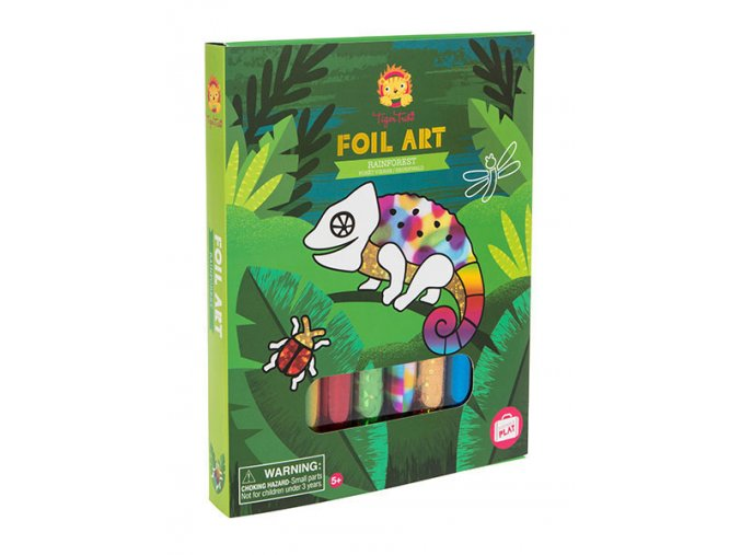 Foil Art - Deštný prales / Foil Art - Rainforest