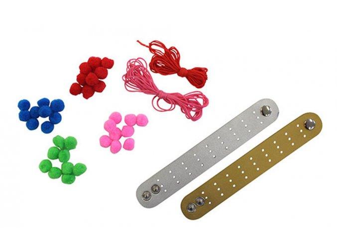 Jewellery Kits/Pom Pom Bracelets (New)