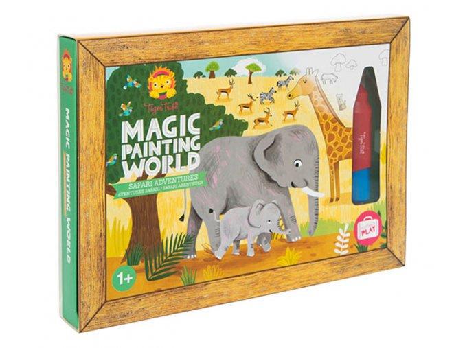 Kouzelné malování - Safari / Magic Painting - Safari Adventures