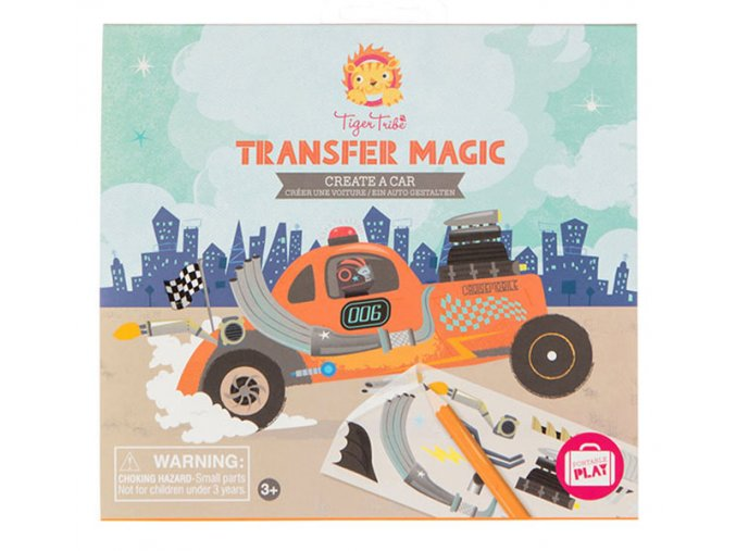 Transfer Magic - Vytvoř auto / Create a Car