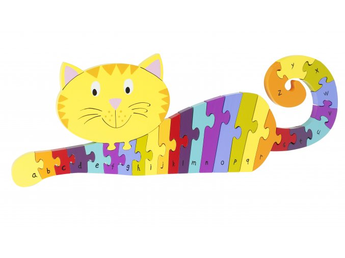 Copy of Alphabet Puzzle Cat