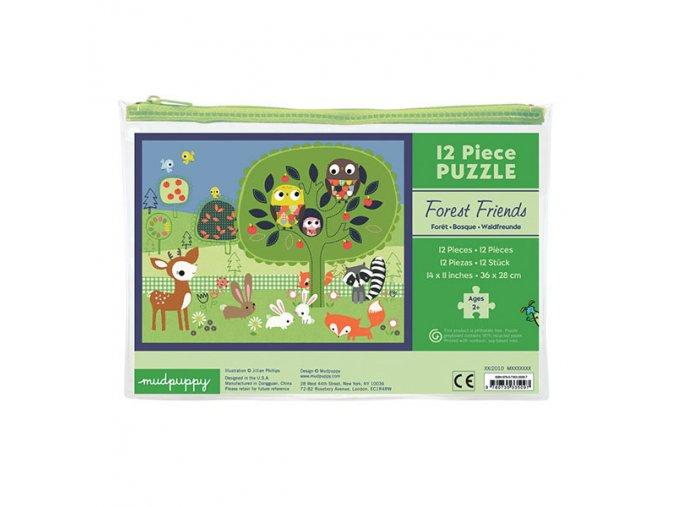 Pouch Puzzle/Forest Friends