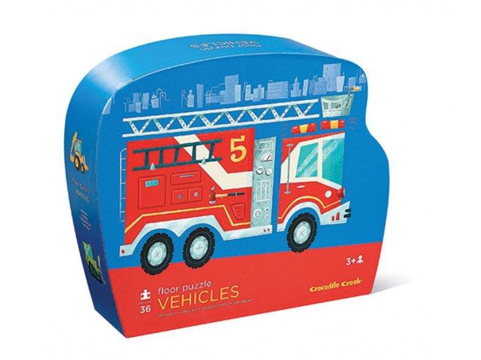 Floor Puzzle/Vehicles 36