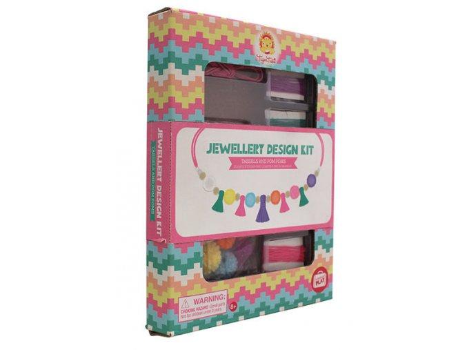 Jewellery Design Kit/Tassels and Pom Pooms
