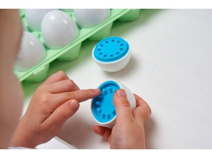 Smyslová počítací vajíčka barevná PK12/Colour match eggs PK12