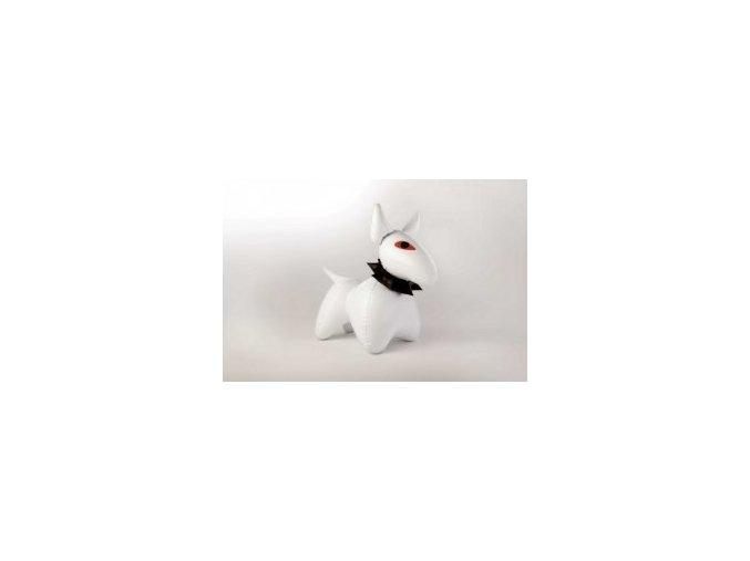 Pes Bulík bílý